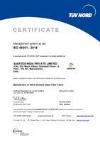 TÜV NORD CERT ISO 45001 2018