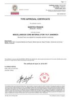 BV Certificate SAERfoam