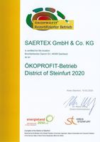 Ökoprofit District of Steinfurt 2020