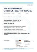 EN 9100 – ISO 9001:2008