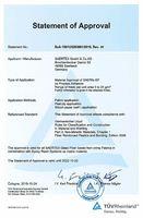 DNV Certificate SAERfix EP