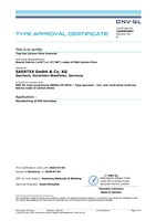 DNV Certificate Carbon Biaxial PAN