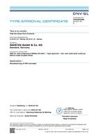 DNV Certificate U-(S-V-) E-Series, N-(S-V-) E-Series