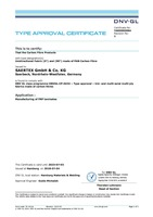 DNV Certificate Carbon Unidirectional PAN