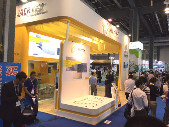 SAERTEX auf der China Composites Expo Messestand 1