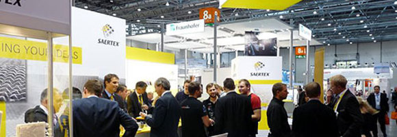 SAERTEX boot at the Composites Europe 2014