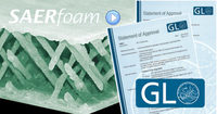 SAERfoam jetzt GL-zertifiziert