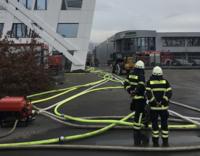 Entwarnung Großbrand