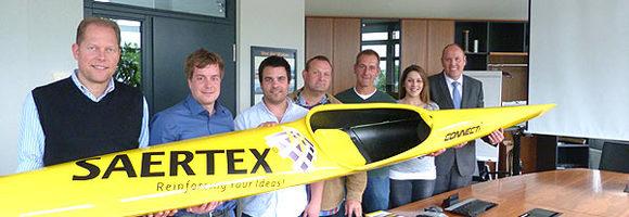 SAERTEX spendet Kajak für den Canu Club Emsdetten